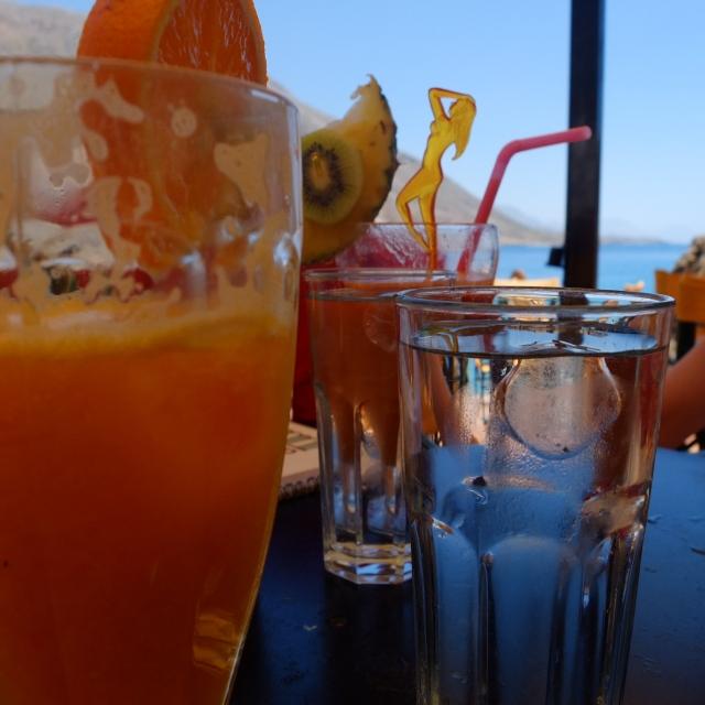 loutro cafe christina fruit cocktail