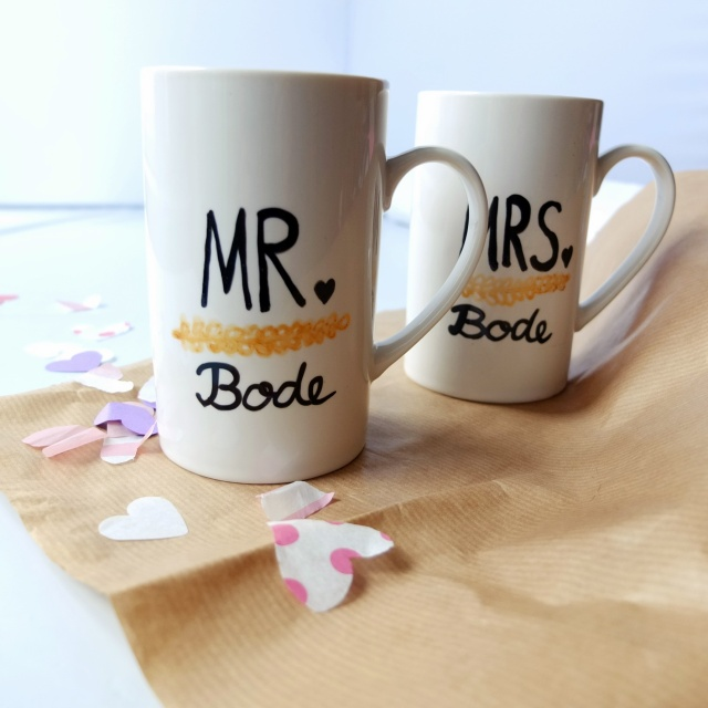 Mr. and Mrs. Coffee Mugs_two